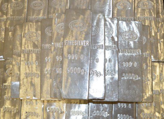 wertvolle Edelmetalle wie Gold, Silber